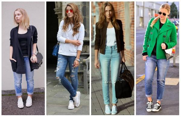 Кроссовки и джинсы: правила идеального сочетания от Mario Muzi