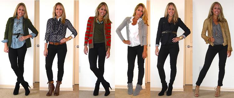 С чем носить черные джинсы и тонкости их выбора