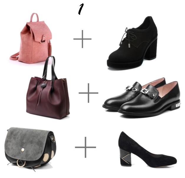 Правильное сочетание обуви и сумки  5 идей от Mario Muzi 69dc9733aad6c