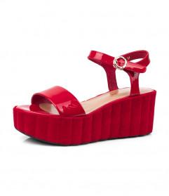 летняя женская обувь на платформе