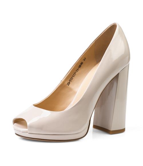 Купить Лаковые туфли с открытым носком за 3290 грн. в Mario Muzi 21d9f0ac680d2